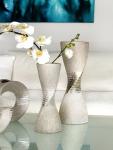 Hosszú csavart váza