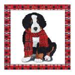 PPD szalvéta kutya fekete-piros NOAH 33x33 cm