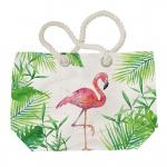 Strandtáska flamingós