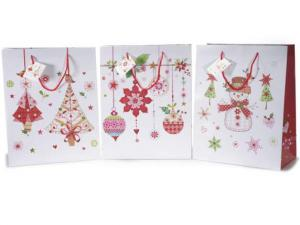 Ajándéktasak karácsonyi háromféle