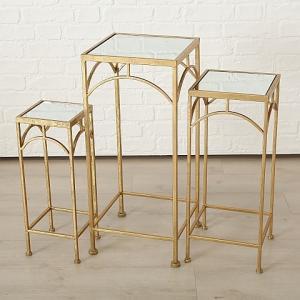Arany asztal közepes 60 cm