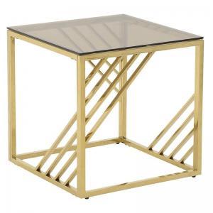 Arany kávézó asztal