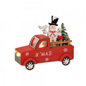 Fa karácsonyi autó