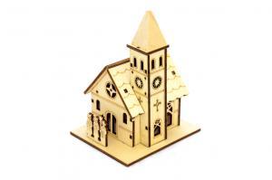 Faház világítós templom