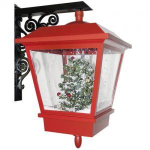 Fali lámpa 45 cm piros (rendelhető)