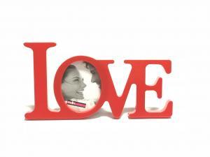 Fényképtaró LOVE felirattal