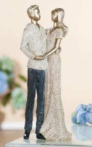"""Figura """"Pár"""" antik arany"""