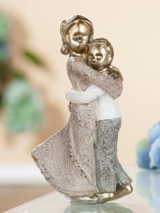 """Figura """"Testvérek"""" antik arany"""