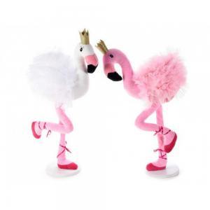 Flamingó koronával