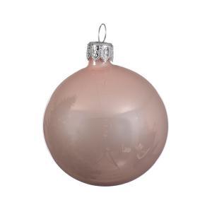 Gömb rózsaszin fényes 15 cm