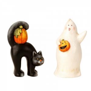 Helloween szellem és macska
