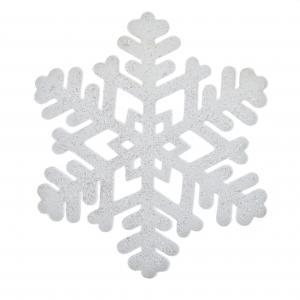 Hópehely csillámos nagy
