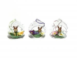 Húsvéti dísz üvegben