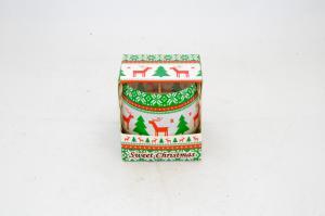 Illatgyertya üvegben Sweet Christmas