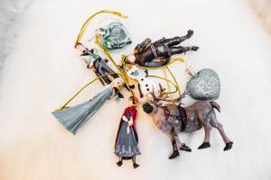 Jégvarázsos figurák