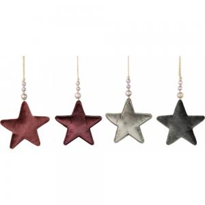 Karácsonyfa disz csillag