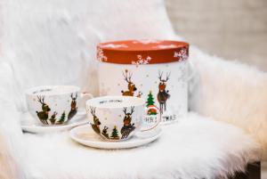 Karácsonyi csésze 2darabos díszdobozban Family Christmas