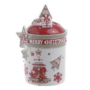 Karácsonyi cukortartó nagy