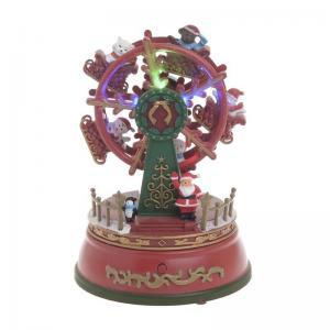 Karácsonyi dekoráció óriáskerék