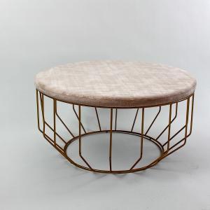 Kávézó asztal rose/gold