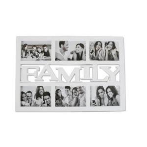 Képkeret Family 6 fotó fehér