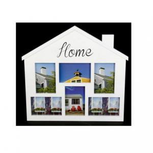Képkeret House Home 6 fotó fehér