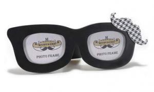 Képtartó szemüveg forma álló
