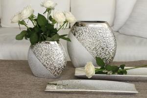 """Kerámia kerek váza """"Grace"""" kicsi"""