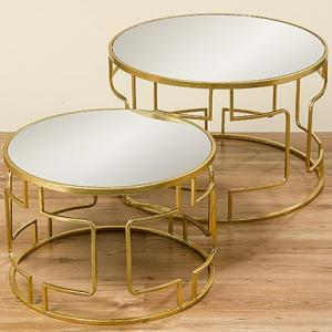 Kerek arany asztal