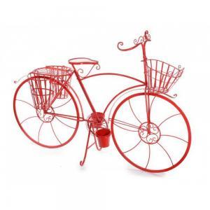 Kerékpár dekoráció piros