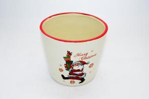 Kerémia kaspó télapó-ajándékok Merry Christmas