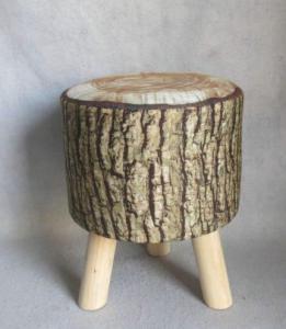 Lábtartó fa műszálas 3 lábú