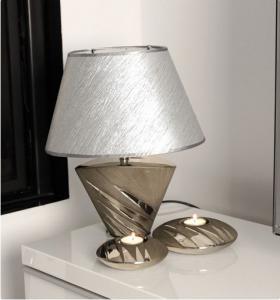 Lámpa yucca antracit-ezüst