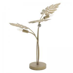 Levél mintás asztali lámpa