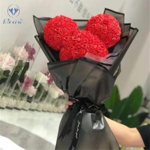 Mickey Mouse fej csokorban piros,szürke,fehér,menta