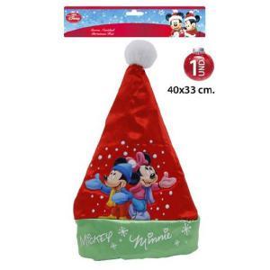 Mikulás sapka Mickey-Minnie