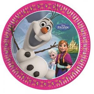 Papirtányér Frozen 8db/csomag