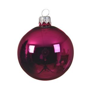 Pink gömb 10 cm 4db/csomag