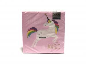 Pink Unicorn szalvéta