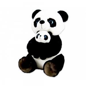 Plüss panda babával