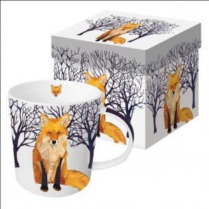 PPD bögre Winter Fox díszdobozban