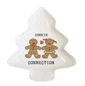 PPD fenyőfa tál Cookie Connection