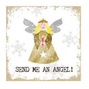 PPD szalvéta SEND ME AN ANGEL! 33x33 cm