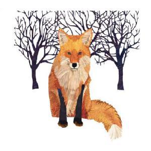 PPD szalvéta WINTER FOX 33x33 cm