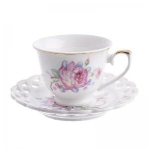 Rózsás csésze szett kicsi