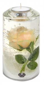 Rózsás henger teamécsestartó (Limitált termék)