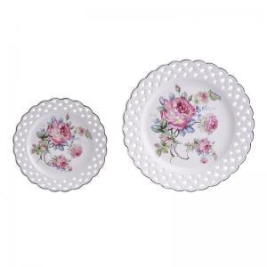 Rózsás tányér szett