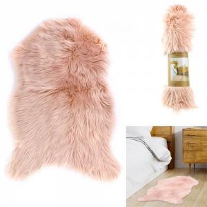 Rózsaszin szőrme szőnyeg