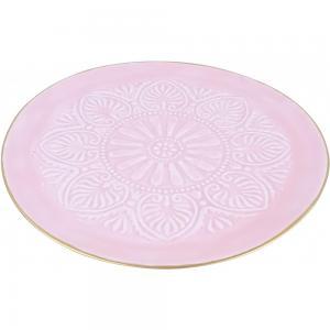 Rózsaszin tányér