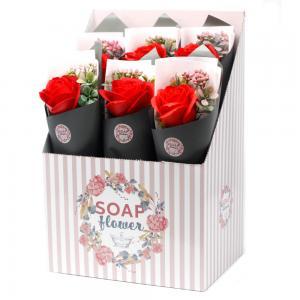 Szálas szappan rózsa bordó